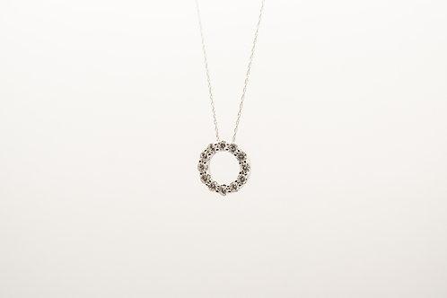 Circle of Diamonds Pendant