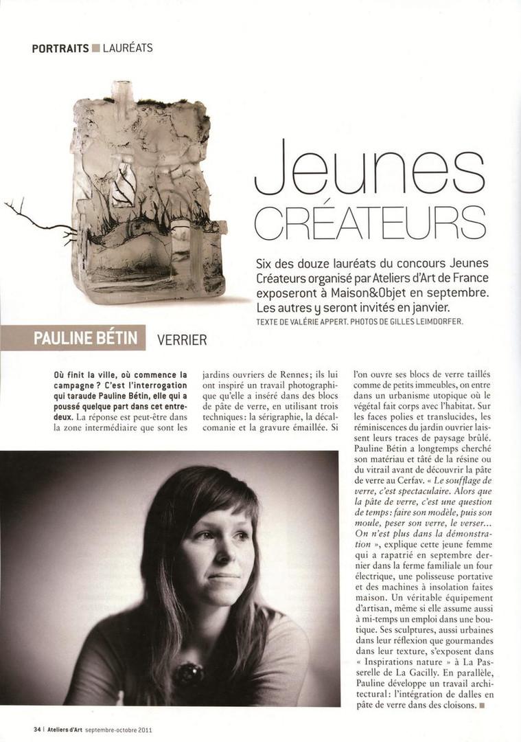 Portraits : Lauréats