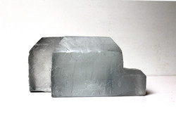 pâte de verre gris et incolore, 27 x 21 x 13 cm 3/5, 2018