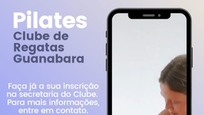 PILATES: 4 AULAS GRÁTIS PARA OS ASSOCIADOS