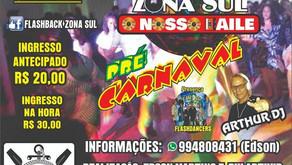 Pré-carnaval do Flashback Zona Sul