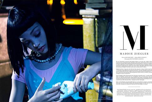 Maddie Ziegler by Hector Perez 3