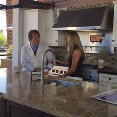 Dr. Lesavoy Behind the Scenes of Let's Talk Coachella Valley