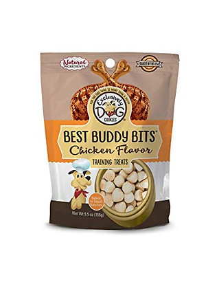 Exclusively Dog Pet Best Buddy Bits-Chicken Flavor, 5-1/2-Ounce Package