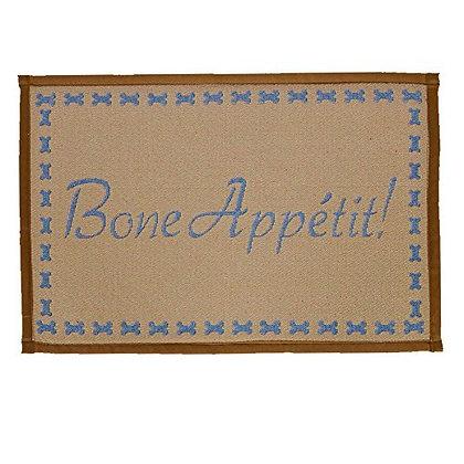 Loving Pets Bella Fashion Mat for Dogs, Bone Appetit