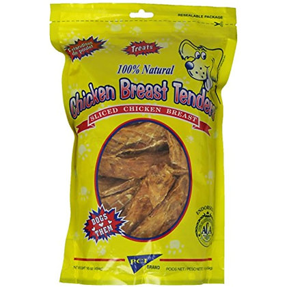 Pet Center Dpc88016 Chicken Breast Tenders Dog Treat, 16-Ounce