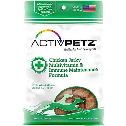Loving Pets Activpetz Chicken Jerky Multivitamin & Immune Maintenance Formula Do