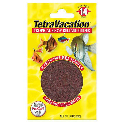 Tetra Vacation Tropical Slow Release Feeder Fish Food, 1.06 oz