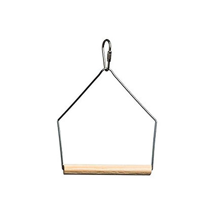 Prevue Pet Products Birdie Basics 3X4 Inch Birch And Wire Swing