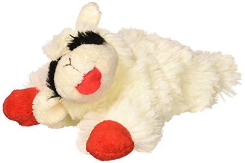 Multipet INTERNATIONAL Lambchop Plush Squeak Toy Mini for Pets, 6-Inch