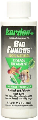 KORDON #39844 Rid Fungus for Aquarium, 4-Ounce