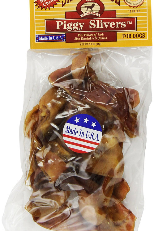 Smokehouse Pet Products 84010 10-Pack Pig Ear Dog Treat