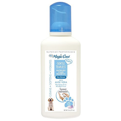 Four Paws Magic Coat Tear-Free Waterless Dry Shampoo for Puppies, 6 oz