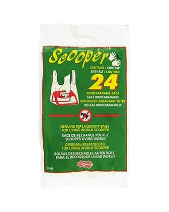 Living World Scooper Replacement Bags, 24-Pack, 70542