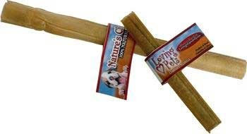 Loving Pets Dlv4724 25-Pack Natures Choice Natural Pressed Rawhide Stick For Dog