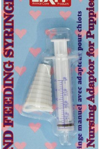 Lixit Corporation DLX0487 Small Animals Feeding Syringe with Nursing Adapter