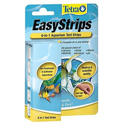 Tetra EasyStrips 6-In-1 aquarium Test Strips, Water Testing (19542)