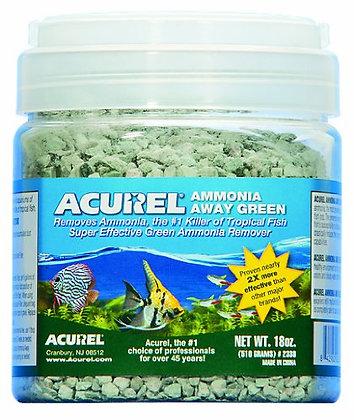 Acurel LLC Ammonia Away Green Aquarium and Pond Filter Accessory, 18-Ounce