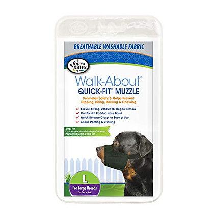 Four Paws Quick Fit Dog Muzzle 4-Large