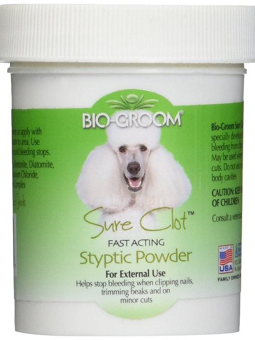 Bio-Groom Sure Clot Styptic Powder 1.5 Oz