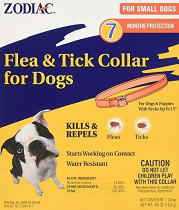 "Zodiac Flea and Tick Collar for Small Dogs, 15"""