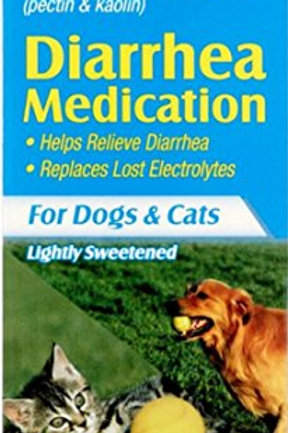 Lambert Kay Pet Pectillin Diarrhea Medication for Dogs and Cats, 4-Ounce