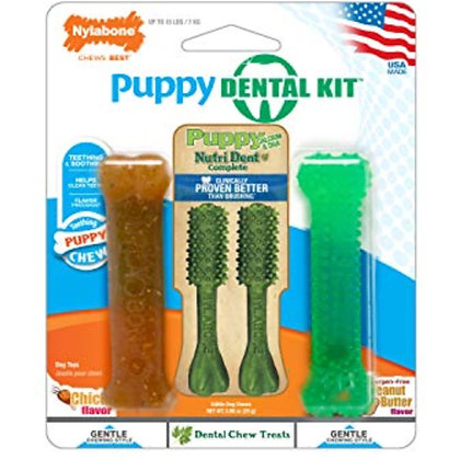 Nylabone Dental Kit for Small Puppies