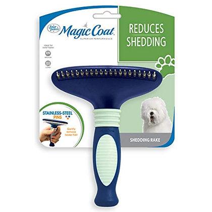 Four Paws Magic Coat Dog Grooming Shedding Rake