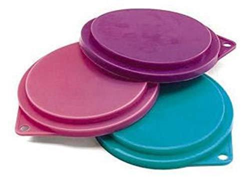 Ethical 3-1/2-Inch Pet Food Can Covers, 3-Pack