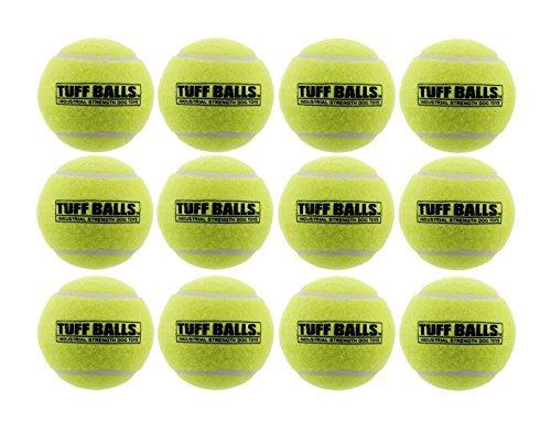 "PetSport USA 2.5"" Tuff Balls for Medium Dogs [Pet Safe Non-Toxic Industrial Stre"