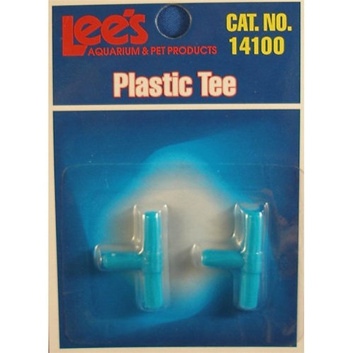 Plastic Tee for Fish Tanks
