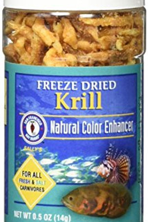 San Francisco Bay Brand Asf71305 Freeze Dried Krill For Fresh And Saltwater Carn