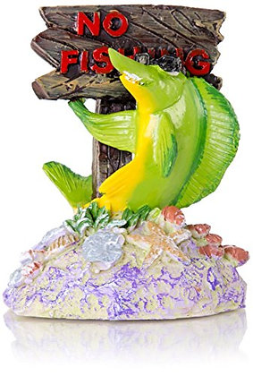 BioBubble Origins No Fishing Ornament, Multicolor