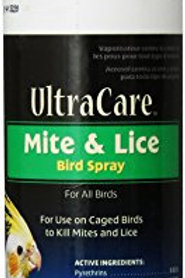 8 In 1 UltraCare Mite and Lice Spray, 8-Ounce pump