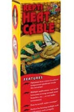 Zoo Med Reptile Heat Cable 15 Watts, 11.5-Feet