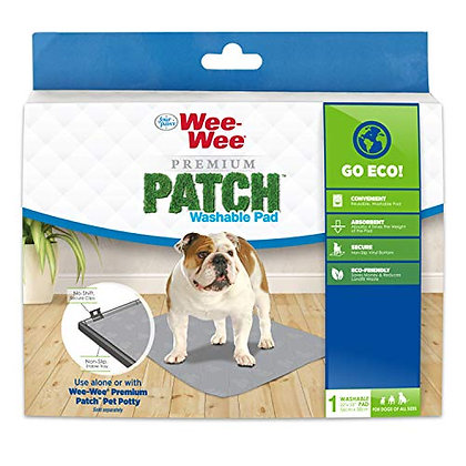 """Four Paws Wee-Wee Premium Patch Reusable Pee Pad for Dogs, 1 Count Standard 22"""""""