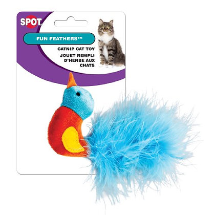 Ethical Pets Fun Feathers Catnip Toy