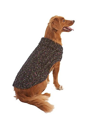 Fashion Pet Lookin' Good! Multi-Crochet Sweater, X-Small, Black