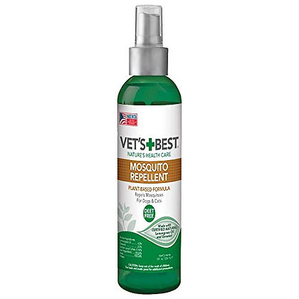 Vet's Best Mosquito Repellent for Dogs and Cats | Repels Mosquitos with Certifie