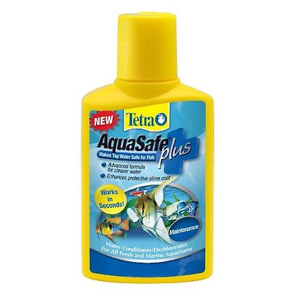 Tetra AquaSafe Plus 1.69 Ounces, aquarium Water Conditioner And Dechlorinator