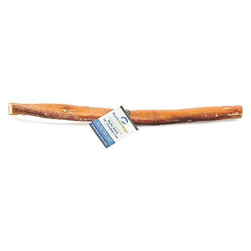 "Barkworthies Double Cut Odor-Free Bully Stick, 12"""