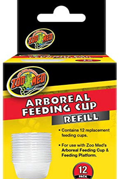 Zoo Med Arboreal Feeding Cup Refill 12pk