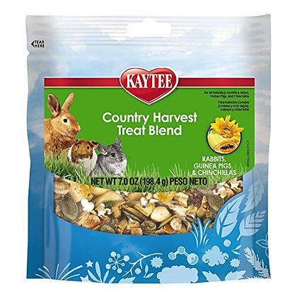 Kaytee Country Harvest Treat Blends for Small Animals, 7oz