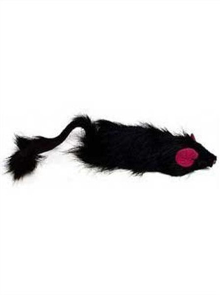 Ethical Shaggy Plush Ferret with Rattle and Catnip Cat Toy