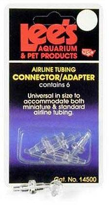Lee's Pet Products ALE14500 6-Card Airline Connectors for Aquarium Pumps