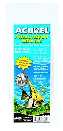 Acurel LLC Filter Drawstring Lifeguard Media Bag, 3-Inch by 8-Inch