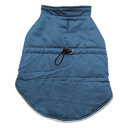 Dogit Winter Dog Vest with Reflective Trim and Adjustable Waist Band, XX-Large,