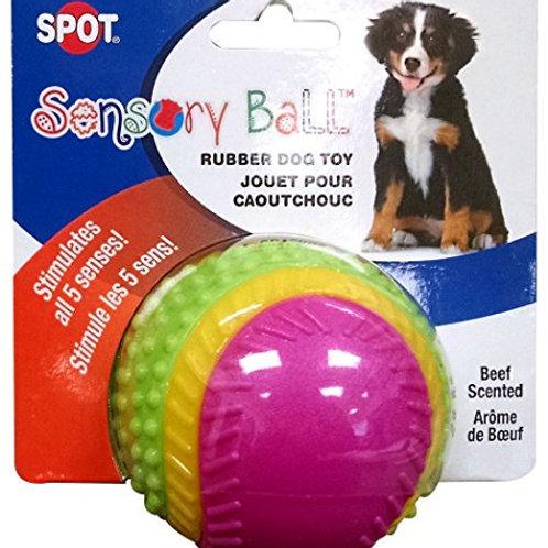 "Ethical Pets Sensory Ball Dog Toy, 2.5"""