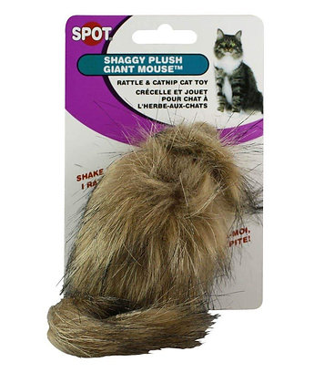 Ethical Cat Squeaky Fur Mouse - 2922