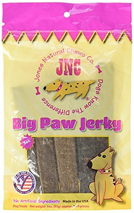 Jones Natural Chews Beef Jerky Dog Treat, Large